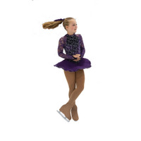 Jerry's Ice Skating Dress   - 39 Versailles  - Deep Purple