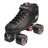 Riedell Quad Roller Speed Skates - R3 Black or White 3rd view