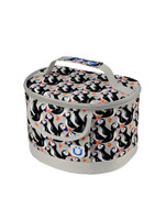Zuca Lunchbox Playful Puffins