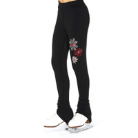 S113  Jerry's  Crystal Snow Daisy Leggings