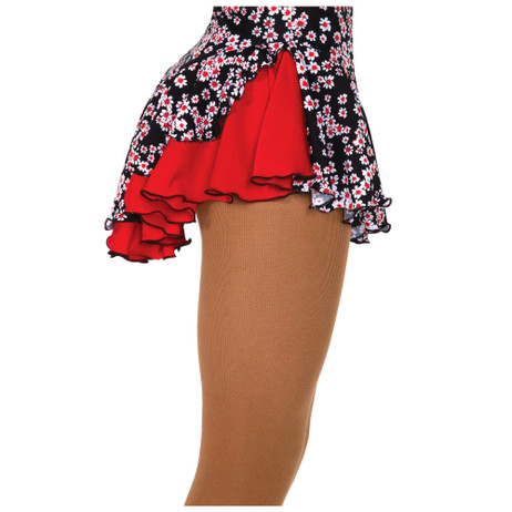 Jerry's 504 Double Back Skirt - Daisy/Red