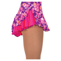 Jerry's 508 Double Back Skirt - Purple Flowers/Pink
