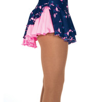 Jerry's 511 Double Back Skirt - Navy Flamingo/Pink