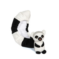 Blade Buddies Ice Skating Soakers - Critter Tail Covers - Lemur