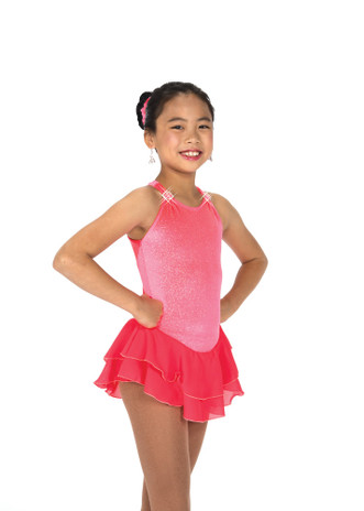 Jerry's Ice Skating  Dress 151 Shimmer Dresses –Calypso Pink