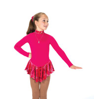 Jerry's Ice Skating  Dress - 158 Finest Fleece Dresses – Fire Pink
