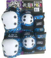 187 Killer Pads -  Junior Pad Set - Staab Signature Blue