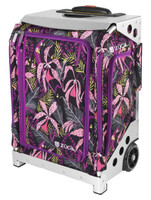 Zuca Travel Bag - Navigator Carry-On Wild Orchid with Silver Frame