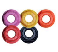 "Atom Bionic Axle Lock Nuts (1/2"", Set of 8)"