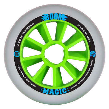 Atom Inline Outdoor Wheels - Boom Magic (Sold as Each's)
