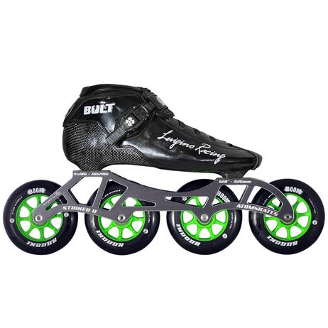 Atom Luigino Bolt Indoor Inline Skate Package