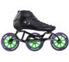 Atom Luigino Strut 3 Wheel Indoor Inline Skate Package (Boom Indoor 100mm XFirm)