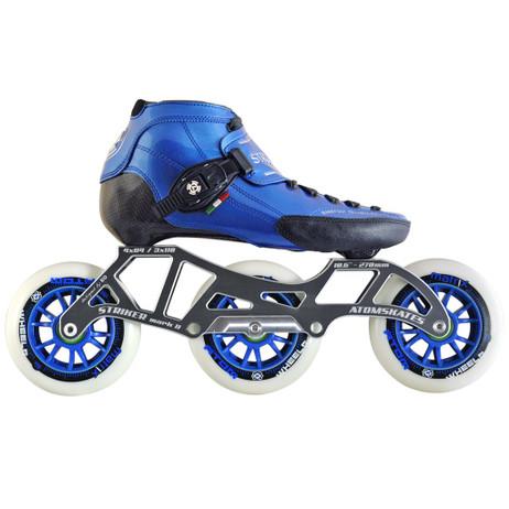 Atom Luigino Strut 3 Wheel Inline Skate Package (Matrix 110mm)