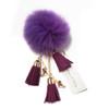 Ice Skating Jewelry - Fluffy & Lilac Keychain