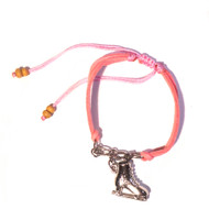 Ice Skating Jewelry - Fun Pink Bracelet