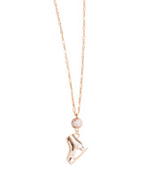 Ice Skating Jewelry - Touch of Rose Gold
