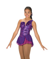 Jerry's Figure Skating Dress 252 - Aurellia (Purple Hyacinth)