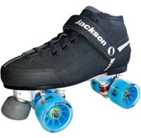 Atom Supreme Viper Alloy Quad Skate Package (Blue)