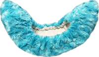 ChloeNoel Puff Soft Blade Covers with Ribbons (Turquoise)
