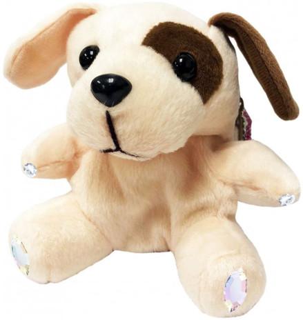 ChloeNoel Cute Animal Key Chain Wallets w/ Crystal Skates - Dog