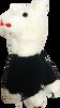 ChloeNoel Cute Animal Key Chain w/ Crystal Skates - Llam