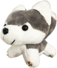 ChloeNoel Cute Animal Key Chain w/ Crystal Skates - Husky