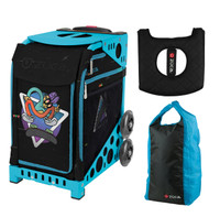 Zuca Sport Bag - Kickflip with FREE Stuff Sack and Seatcover  (Turquoise Frame)
