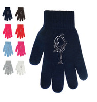 Magic Gloves with Rhinestones