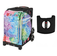 Zuca Explosion bag with Free Seat Cover (Black Frame)
