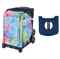 Zuca Explosion bag with FREE Seat Cover (Navy Frame)