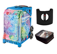 Zuca Exposition with FREE Seat Cover and Zuca Utility Pouch(Small) (Blue Frame)