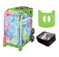 Zuca Exposition with FREE Seat Cover and Zuca Utility Pouch(Small) (Green Frame)
