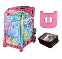Zuca Exposition with FREE Seat Cover and Zuca Utility Pouch(Small) (Pink Frame)