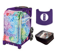 Zuca Exposition with FREE Seat Cover and Zuca Utility Pouch(Small) (Purple Frame)