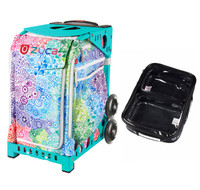 Zuca Explosion bag + FREE Zuca Utility Pouch Combo Set - One Large and Two Mini Utility Pouches (Turquoise Frame)