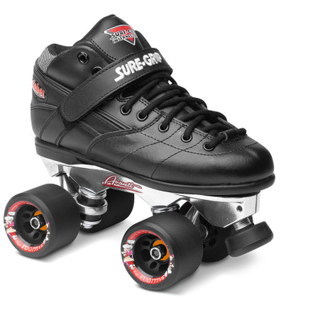 Sure-Grip Quad Roller Skates - Rebel Avanti Aluminum