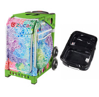 Zuca Explosion bag + FREE Zuca Utility Pouch Combo Set - One Large and Two Mini Utility Pouches (Green Frame)