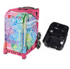 Zuca Explosion bag + FREE Zuca Utility Pouch Combo Set - One Large and Two Mini Utility Pouches (Pink Frame)