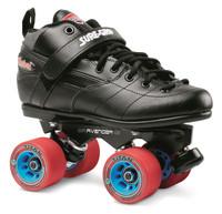 Sure-Grip Quad Roller Skates - Rebel Avenger Aluminum