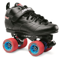 Sure-Grip Quad Roller Skates - Rebel Avenger Aluminum