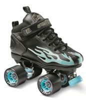 ure-Grip Quad Roller Skates - Flame