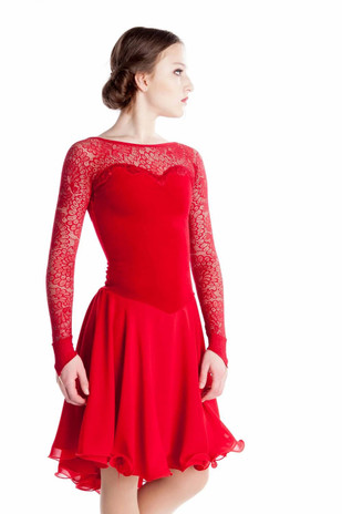 Elite Xpression - The Red Dance Dress