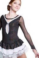 Elite Xpression - Silver and Black Ballet Dress