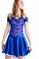 Elite Xpression - Royal Lace Dance Dress