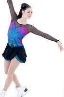 Elite Xpression - Multi-Colored Butterfly Dress