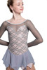Elite Xpression - Mature Simplicity Dress - Grey-Blush