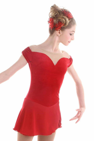 Elite Xpression - Gracie Gold's Red Rose Dress