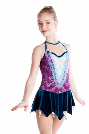 Elite Xpression - Funky Purple and Teal Fairy Dress