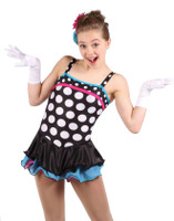 Elite Xpression - Fun Polka Dots Dress
