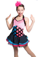 Elite Xpression - Clown Dress Pink-Blue